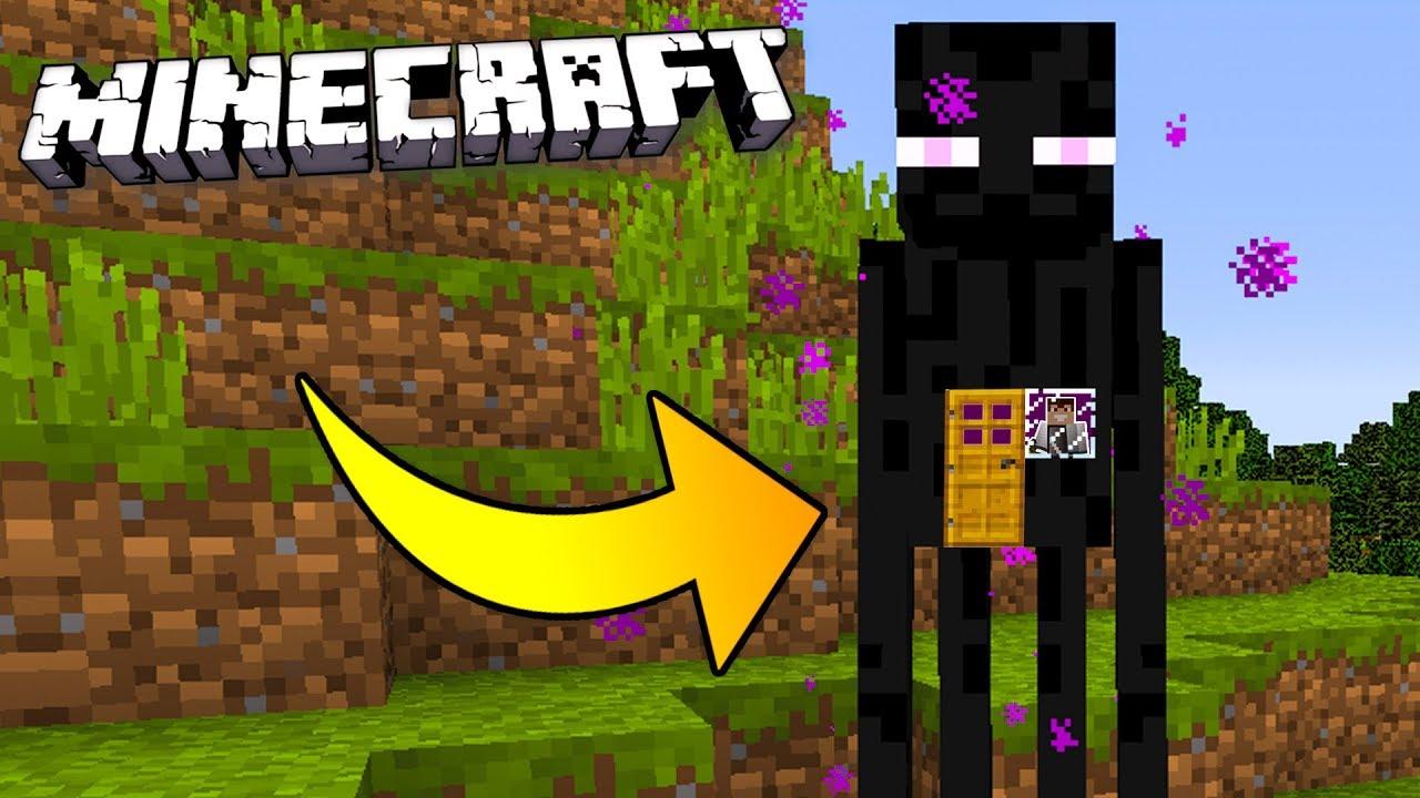Jak Zyc W Endermanie W Minecraft Youtube