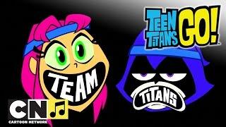 Teen Titans Go ♫ Voll auf den Nuschel ♫ Cartoon Network