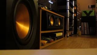 !!! Klipsch Reference Subwoofer R-110 SW & Bass I Love you !!!