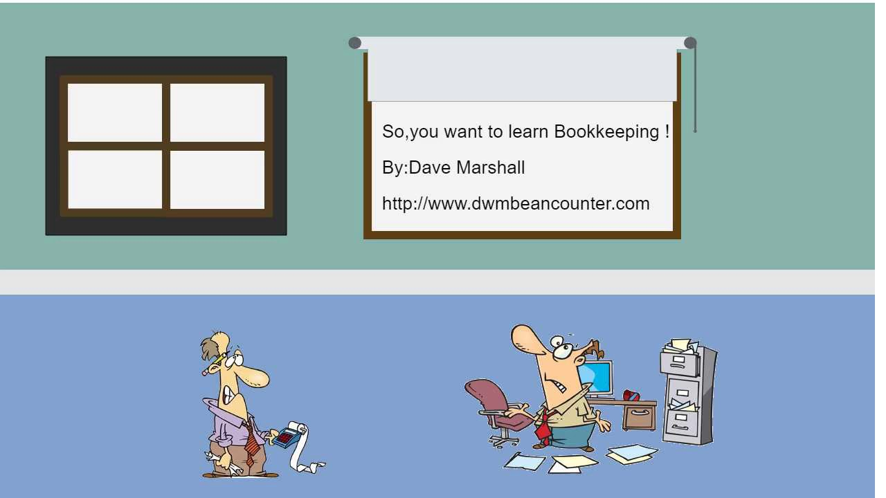 So, you want to learn Bookkeeping ! - YouTube