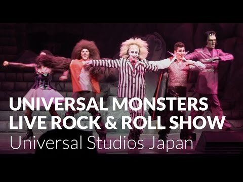 Universal Monsters Live Rock And Roll Show - Universal Studios Japan