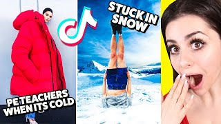 Most Amazing Winter TIkTok Compilation !
