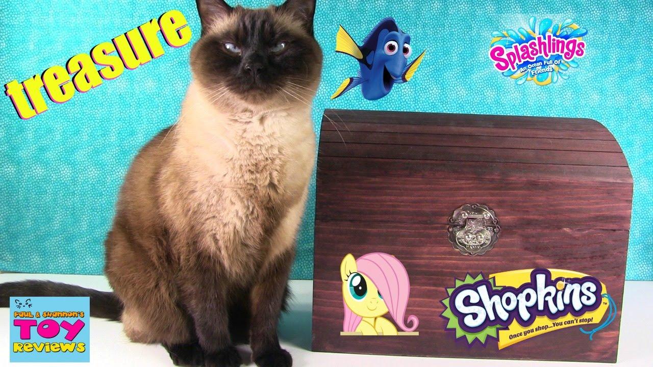 Download Simon's Blind Bag Treasure Chest Unboxing #18 | Gift Ems Shopkins Happy Places Num Noms | PSToyRevie