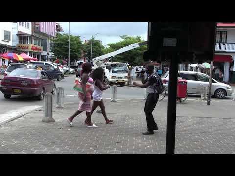 Eindtijd straat evangelisatie Campagne juni  2018 in Suriname