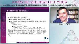 Conférence Axes de recherche cyber - format digital 09 mars