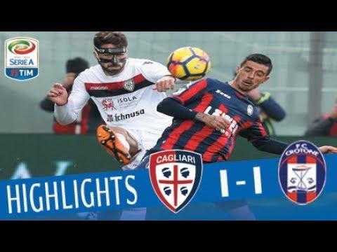 Crotone - Cagliari 1-1 - Highlights - Giornata 22 - Serie A TIM 2017/18