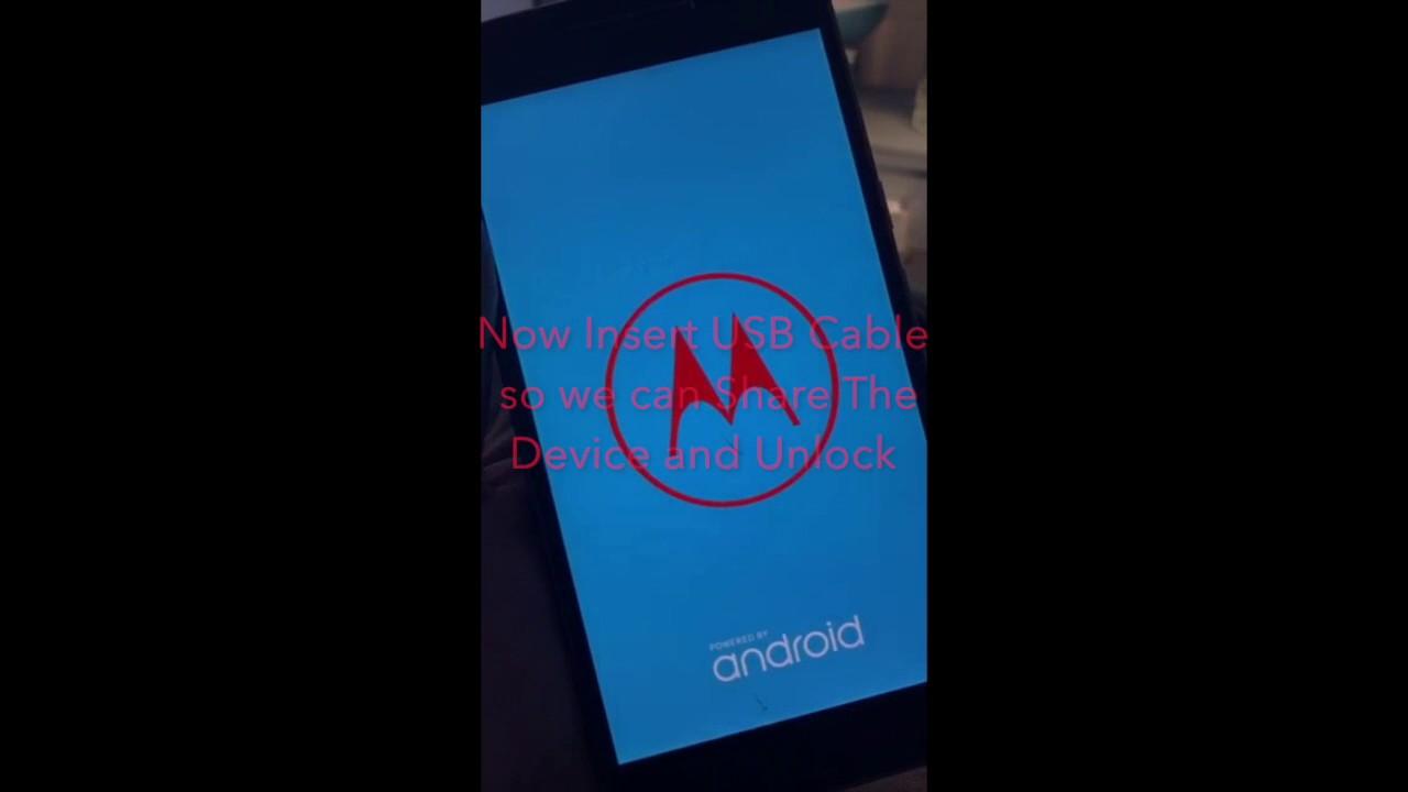 Motorola FRP Factory Mode