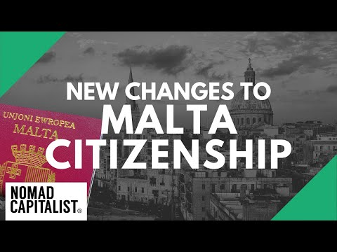 BREAKING: Changes to Malta Citizenship by Investment