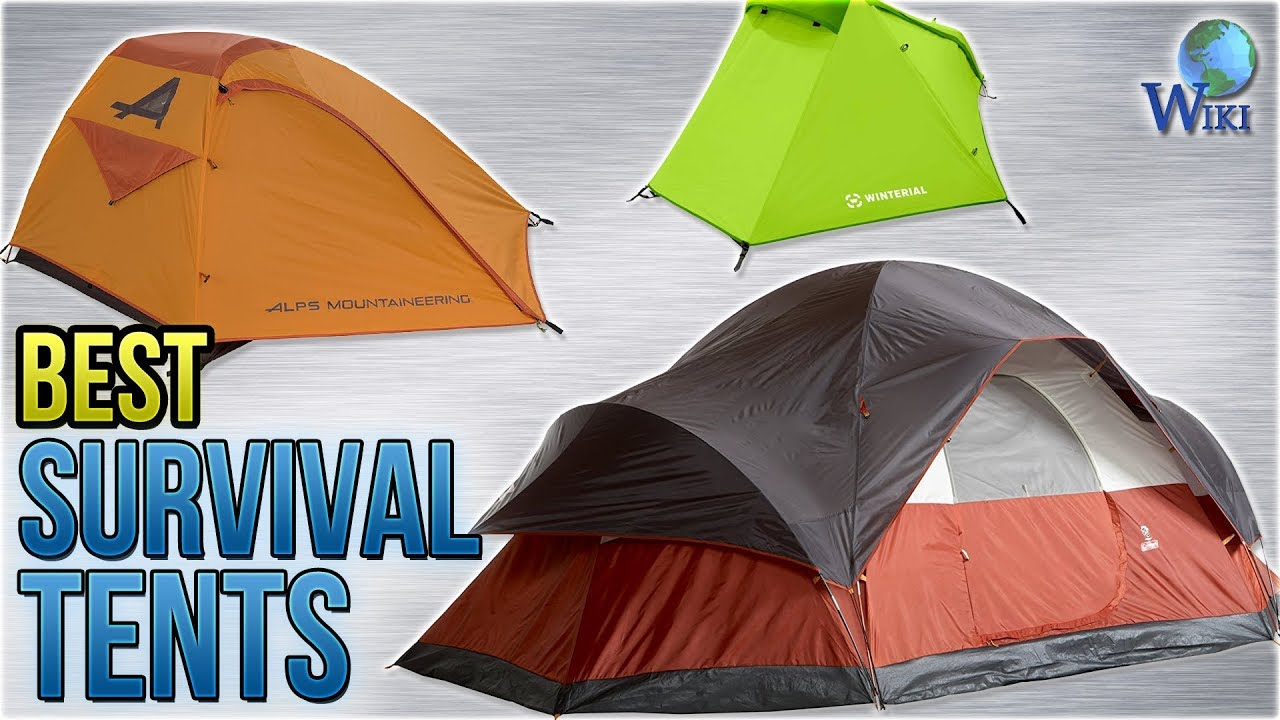 10 Best Survival Tents 2018 & 10 Best Survival Tents 2018 - YouTube
