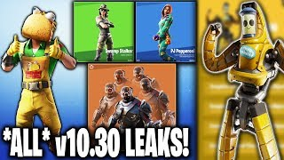 *LEAKED* v10.30 Fortnite Skins & Cosmetic Items | 16 NEW Skins! P-1000, Taco Skin + MORE!!