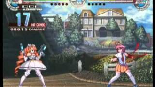 Arcana Heart 3 - All Character Combo Exhibition