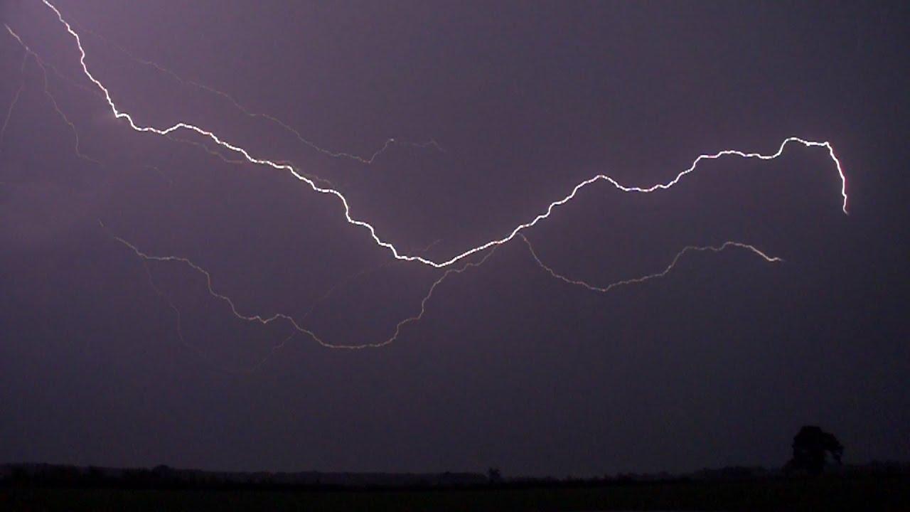 Lightning In Super Slow Motion