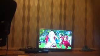 WK 2014 - germany vs ghana  Thomas Muller horror foul