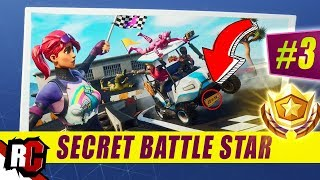 Secret Battle Star Emplacement WEEK 3 SEASON 5 Fortnite (Road Trip Challenge / Écran de chargement SEMAINE 3)