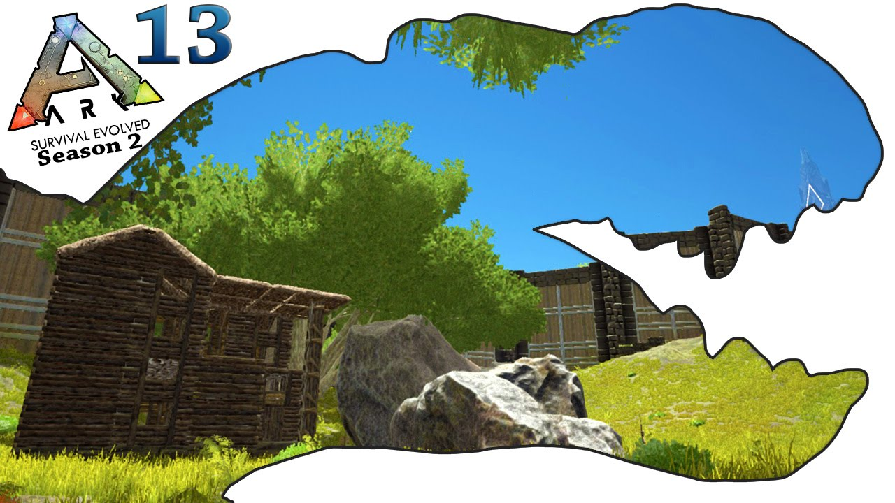 Exceptional ARK Survival Evolved Gameplay   S2 Ep13   Epic House Design   Letu0027s Play    YouTube