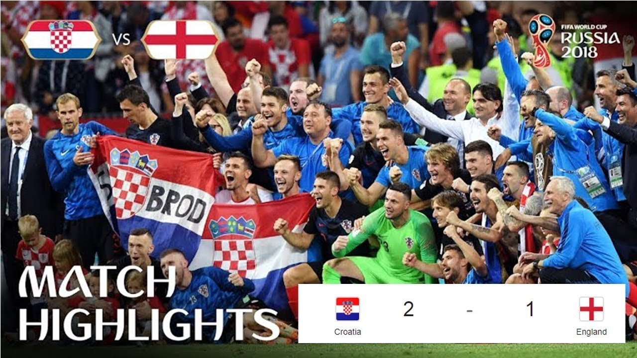 Download Croatia vs England 2-1  All Goals & Extended Highlights   World Cup11 07 2018 HD