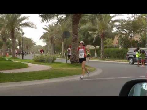 Dubai Saucony Hills Half Marathon 2012