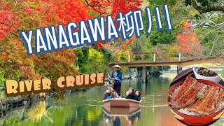 Yanagawa is popular with Japanese tourists because of its 470 km of...