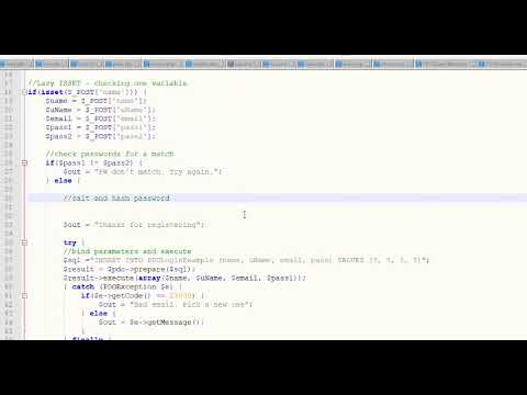 Password Hash And Password Verify  - Salt And Hash A Password In PHP