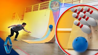 Vertical Bowling Challenge!