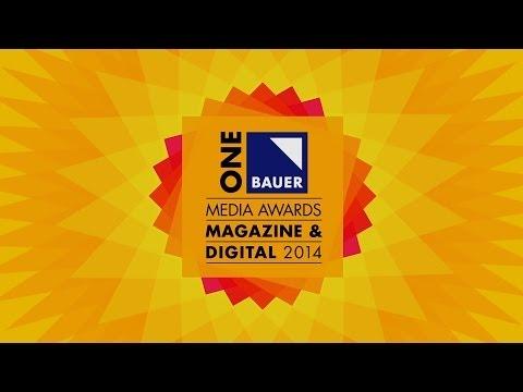 ONE Bauer Media Awards - Magazine & Digital - 2014