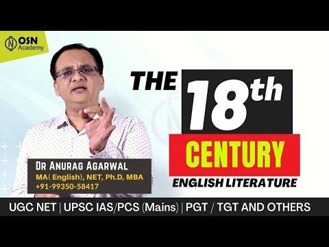 UGC NET English Literature | The 18th Century