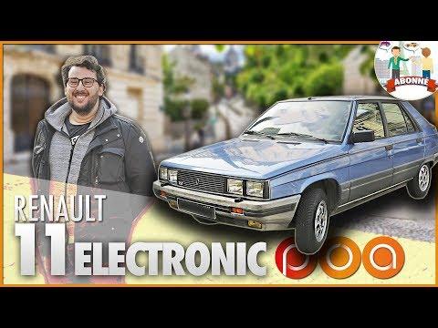 🚗 RENAULT 11 ELECTRONIC・CONNECTEE ET AUTONOME