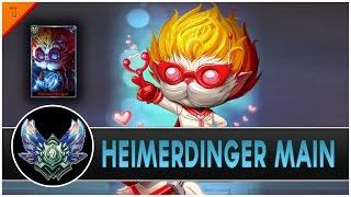 Rezone - Heimerdinger Main Compilation | 1MILLION MASTERY POINTS - League of legends