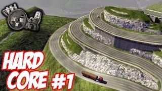 Euro Truck Simulator 2 - Mapa difícil #1 - Sufoco para sair da empresa - Com Logitech G27