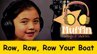 Row Row Row Your Boat | Family Sing Along - Muffin Songs