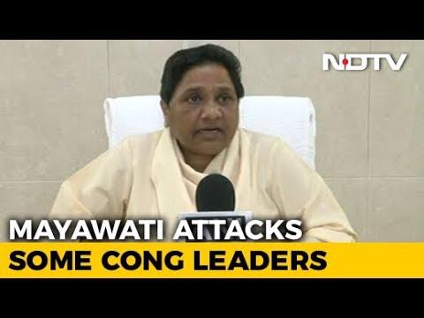 No Tie-Up With Congress For State Polls, Says Mayawati, 2019 Door Ajar