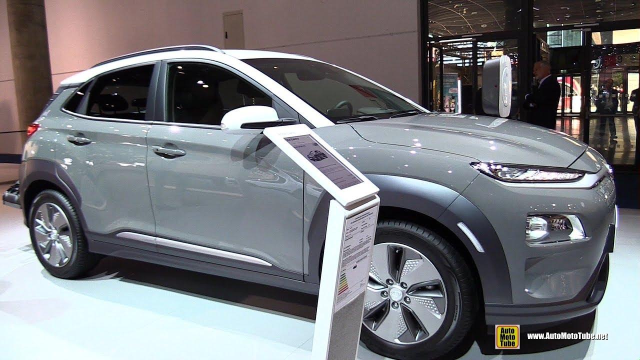 2020 Hyundai Kona Electric Exterior And Interior Walkaround 2019 Frankfurt Motor Show