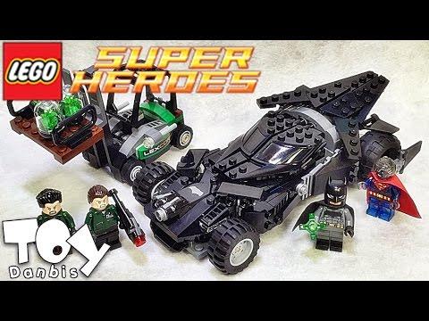 레고 슈퍼히어로즈 크립토나이트 공격 76045 배트모빌 조립 리뷰 Lego DC Comics Super Heroes Kryptonite Interception