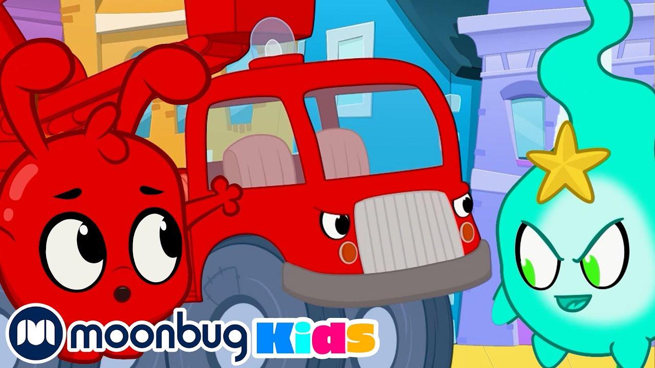 Scary Trucks -  @Morphle TV   | Kids Cartoons & Nursery Rhymes | Moonbug Kids