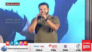 Music Director GIBRAN SPEECH | SAAHO Movie Press Meet | PRABHAS | Arun Vijay