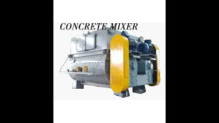 Concrete mixer l Twin spiral m…