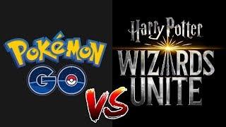 ¡POKEMON GO VS HARRY POTTER WIZARDS UNITE! ¿EN QUE AFECTARA UN JUEGO AL OTRO?
