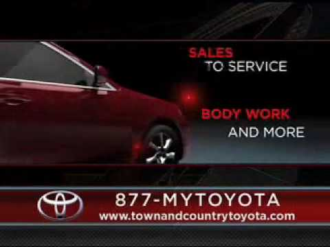 Town And Country Toyota >> Town And Country Toyota Time Is Money