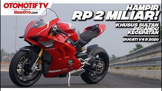 Ngegas Ducati Panigale V4 R, Dari MotoGP Jadi Superbike Jalan Raya, Suaranya Gokil! l GridOto