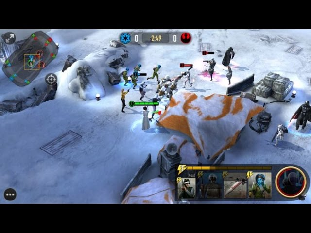 STAR WARS FORCE ARENA Android / iOS Gameplay Video