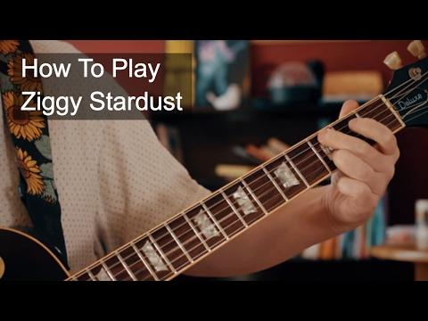 Ziggy Stardust David Bowie Guitar Tutorial