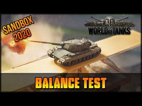 Balance Test 2.0 - World Of Tanks - Sandbox - Deutsch