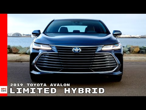 2019 Toyota Avalon Limited Hybrid Youtube