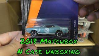 2018 Matchbox N Case Unboxing