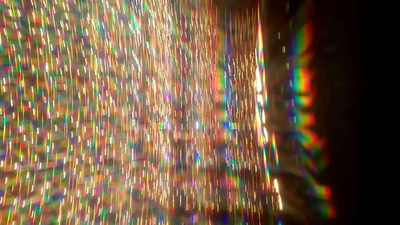 3d glasses effect on christmas lights youtube