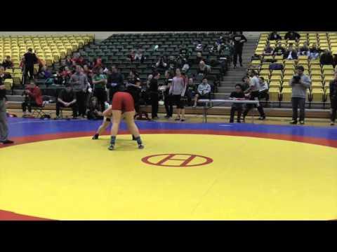 2016 Golden Bear Open: 82 kg Holly Ellsworth-Clark vs. Rebecca Ells