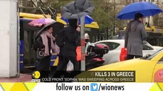 Intense cold kills three in Greece