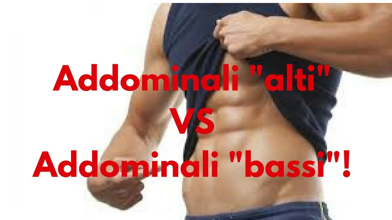 "Top Allenamento : Addominali ""alti"" vs Addominali ""bassi""! - YouTube RC41"