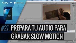 VEGAS PRO 14 #28 Prepara tu audio para sincronizar slow motion (Tutorial)