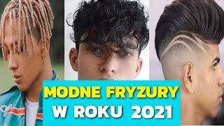 Modne Fryzury Męskie 2020 • TOP 10 Propozycji • David Durden